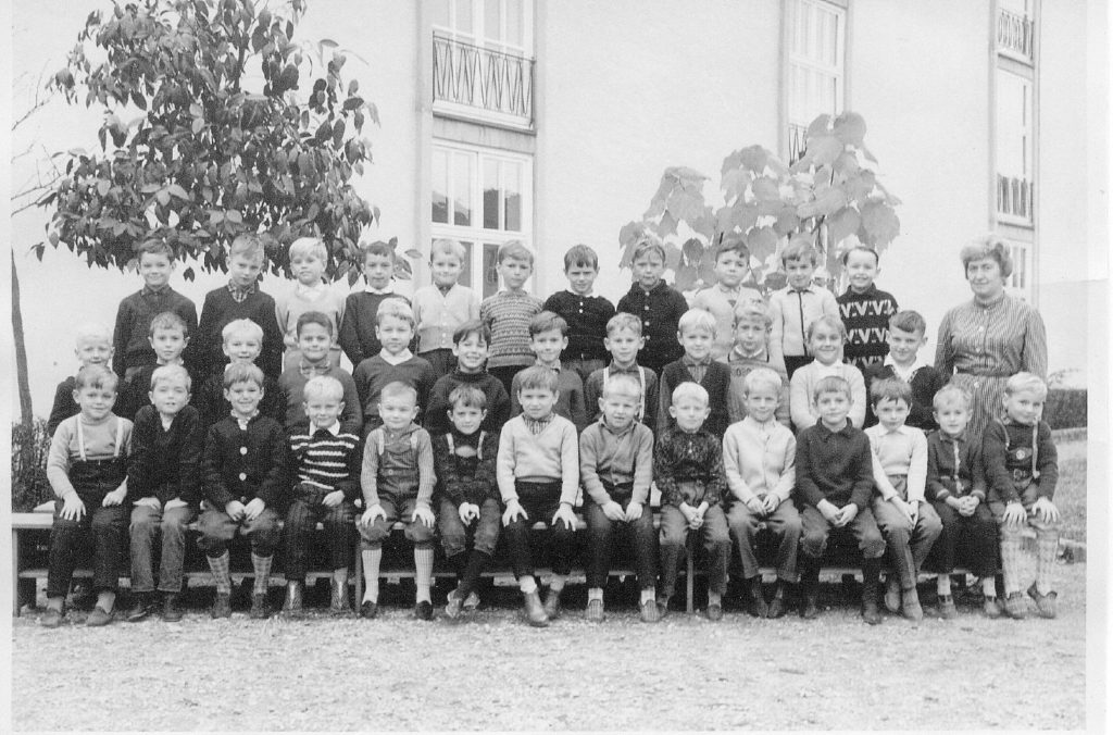 Klassenfoto 4. Klasse 1963